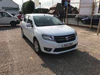 USED 2013 63 DACIA SANDERO 1.5 LAUREATE DCI 5d 90 BHP JUST ARRIVED ZERO££ TAX-FULL DEALER HISTORY-SAT-NAV-BLUETOOTH-1 FORMER KEEPER