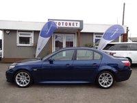 2008 BMW 5 SERIES 3.0 535D M SPORT 4DR AUTOMATIC DIESEL 282 BHP £9700.00