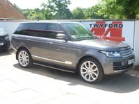 USED 2014 64 LAND ROVER RANGE ROVER 3.0 TDV6 VOGUE 5d AUTO 258 BHP ONE OWNER 62000 MILES LAND ROVER SERVICE