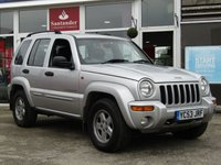 USED 2004 53 JEEP CHEROKEE 2.8 LIMITED CRD 5d AUTO 148 BHP