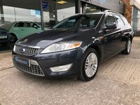 USED 2009 59 FORD MONDEO 2.0 TITANIUM X TDCI 5d AUTO ESTATE 140 BHP Heated/cooling leather seats, FSH, 2 keys, 12 months MOT