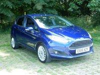 2015 FORD FIESTA 1.0 TITANIUM 5d 99 BHP £7995.00