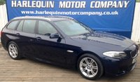 USED 2010 60 BMW 5 SERIES 2.0 520D M SPORT TOURING 5d 181 BHP