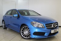 USED 2015 64 MERCEDES-BENZ A CLASS 1.5 A180 CDI BLUEEFFICIENCY AMG SPORT 5DR 109 BHP FULL SERVICE HISTORY + HALF LEATHER SEATS + BLUETOOTH + CRUISE CONTROL + MULTI FUNCTION WHEEL + CLIMATE CONTROL + 18 INCH ALLOY WHEELS