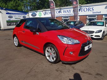 2012 CITROEN DS3 1.6 DSTYLE PLUS 3d 120 BHP £5590.00