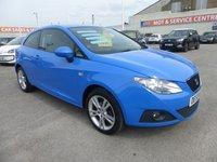 USED 2009 59 SEAT IBIZA 1.6 SPORT 3d 103 BHP FSH * ONE OWNER * GOT BAD CREDIT * WE CAN HELP
