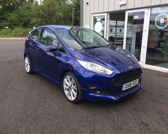 2016 16 FORD FIESTA 1.0 ZETEC S ECOBOOST (125PS) 3dr