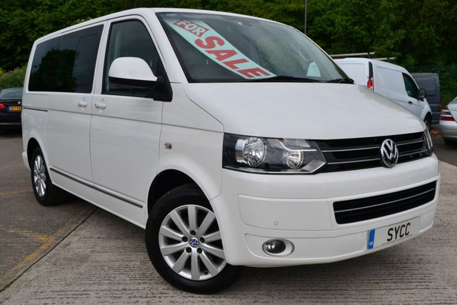 2011 61 VOLKSWAGEN CARAVELLE 2.0 EXECUTIVE TDI 5d AUTO 140 BHP WHEEL CHAIR LIFT