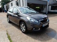 USED 2016 16 PEUGEOT 2008 1.6 BLUE HDI ACTIVE 5d 75 BHP FSH,BLUETOOTH,AIR CON,TWO KEYS,CRUISE,USB AND AUX PORT