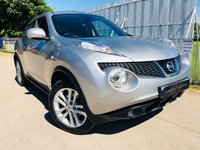 USED 2011 61 NISSAN JUKE 1.6 TEKNA DIG-T 5d 190 BHP FNSH! LOW MILEAGE FOR AGE! Rev Cam, Sat Nav, Heated Seats!