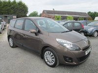USED 2009 RENAULT GRAND SCENIC 1.5 EXPRESSION DCI 5d 105 BHP 7 SEVEN SEATER DIESEL LOW MILEAGE