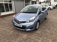 2013 TOYOTA YARIS 1.4 D-4D TR 5d 89 BHP JUST ARRIVED £5499.00