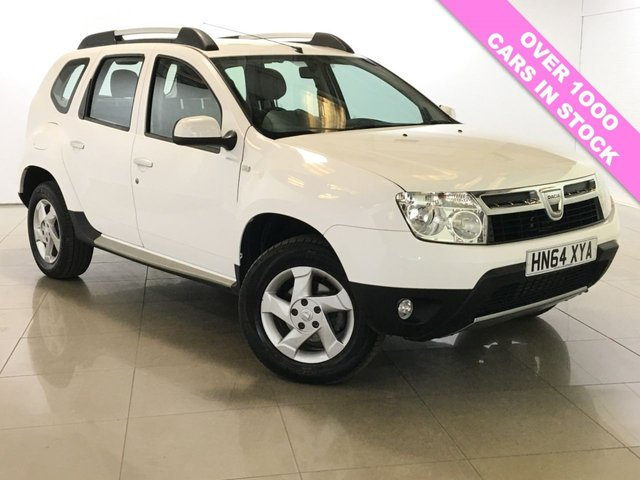 View our 2014 64 DACIA DUSTER 1.5 LAUREATE DCI 4WD 5d 109 BHP