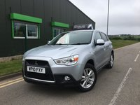 USED 2010 10 MITSUBISHI ASX 1.8 DI-D 3 5 DOOR SUV ** LOW MILES **