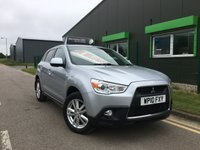 2010 MITSUBISHI ASX 1.8 DI-D 3 5 DOOR SUV only 50,000 with full service history £6495.00