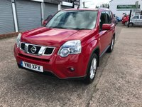 USED 2011 11 NISSAN X-TRAIL 2.0 ACENTA DCI 5d 171 BHP JUST ARRIVED Main Dealer Service History-1 Owner-Bluetooth-4 Wheel Drive