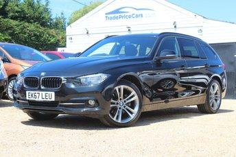 2017 BMW 3 SERIES 2.0 320D XDRIVE SPORT TOURING 5d 188 BHP £20950.00