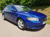 USED 2010 10 VOLVO S40 1.6 D DRIVE S 4d 109 BHP **£20 ROAD FUND**SUPERB DRIVE**EXCELLENT CONDITION**