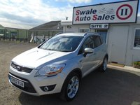USED 2012 62 FORD KUGA 2.0 TITANIUM TDCI AWD 5d AUTO 163 BHP £69 PER WEEK OVER 5 YEARS, NO DEPOSIT - SEE FINANCE LINK