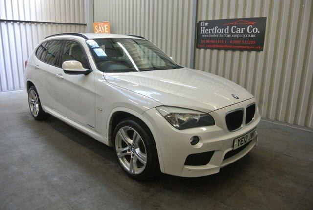2012 12 BMW X1 2.0 XDRIVE18D M SPORT 5d 141 BHP