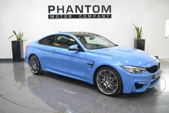 2016 BMW 4 SERIES 3.0 M4 COMPETITION PACKAGE 2d AUTO 444 BHP £42990.00
