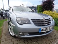 USED 2007 07 CHRYSLER CROSSFIRE 3.2 V6 2d AUTO 215 BHP **Stunning Low Mileage FSH 8 Services May 2019 Mot**