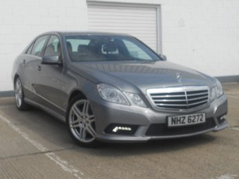 2010 MERCEDES-BENZ E CLASS 3.0 E350 CDI BLUEEFFICIENCY SPORT 4d AUTO 265 BHP £11995.00