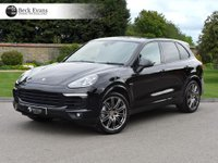 USED 2017 17 PORSCHE CAYENNE 4.1 S D PLATINUM EDITION TIPTRONIC S 5d AUTO 379 BHP PANORAMIC SUNROOF FULL LEATHER