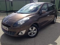 2010 RENAULT GRAND SCENIC 1.5 DYNAMIQUE TOMTOM DCI 5d 105 BHP 7 SEATER AIR CON ALLOYS MOT 06/19 £4990.00