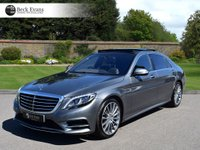 USED 2017 66 MERCEDES-BENZ S CLASS 4.7 S 500 L AMG LINE EXECUTIVE 4d AUTO 449 BHP