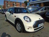 2015 MINI HATCH ONE 1.2 ONE 3d 101 BHP £8194.00