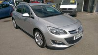 2013 VAUXHALL ASTRA 2.0 SRI CDTI ECOFLEX S/S 5 DOOR 163 BHP IN SILVER WITH UPGRADED ALLOYS £6799.00