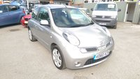USED 2010 60 NISSAN MICRA 1.2 N-TEC 3 DOOR 80 BHP IN SILVER WITH SAT NAV IN IMMACULATE CONDITION. APPROVED CARS ARE PLEASED TO OFFER THIS NISSAN MICRA 1.2 N-TEC 3 DOOR 80 BHP IN SILVER WITH SAT NAV,BLUETOOTH,ALLOYS AND MUCH MORE WITH A FULL SERVICE HISTORY SERVICED AT 9K,10K,13K,14K,19K,34K,54K,68K AND 81K,THE CARS IN IMMACULATE CONDITION INSIDE AND OUT AND IS VERY RARE WITH THE EXTRAS THIS CAR HAS AN IDEAL FIRST CAR OR SMALL FAMILY RUN AROUND.