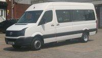 2014 VOLKSWAGEN CRAFTER 2.163 CR5163 TDI L H/R P/V 1d 162 BHP MAXI 16 SEATER MINI BUS WITH TAIL LIFT / TAKO // 1 OWNER F/S/H 2 KEYS /// £13990.00