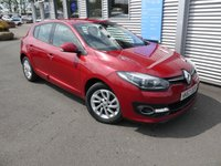 USED 2013 63 RENAULT MEGANE 1.5 DYNAMIQUE TOMTOM ENERGY DCI S/S 5d 110 BHP