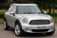 USED 2012 62 MINI COUNTRYMAN 2.0 COOPER D 5d AUTO 110 BHP