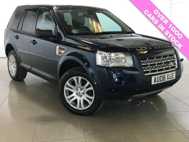 View our 2008 08 LAND ROVER FREELANDER 2.2 TD4 HSE 5d 159 BHP