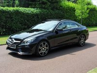 USED 2015 15 MERCEDES-BENZ E CLASS 2.1 E250 CDI AMG Line 7G-Tronic Plus (s/s) 2dr PANORAMIC ROOF+1OWNER+F/M/S/H