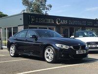 2015 BMW 4 SERIES 3.0 430D XDRIVE M SPORT GRAN COUPE 4d 255 BHP £19990.00