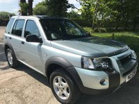 2006 LAND ROVER FREELANDER 2.0 TD4 ADVENTURER 5d 110 BHP £3295.00