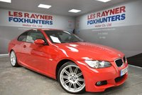 USED 2007 07 BMW 3 SERIES 2.0 320I M SPORT 2d 168 BHP Full Leather, Bluetooth, Cruise control, Rear Park Sensors, Xenon headlights