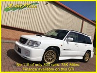 USED 2001 51 SUBARU FORESTER 2.0 STi +Number 119 of only 800 cars+