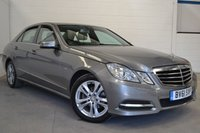 2011 MERCEDES-BENZ E CLASS 2.1 E220 CDI BLUEEFFICIENCY AVANTGARDE ED125 4d AUTO 170 BHP £10700.00