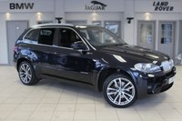USED 2011 60 BMW X5 3.0 XDRIVE40D M SPORT 5d AUTO 302 BHP FULL BLACK LEATHER SEATS + FULL SERVICE HISTORY + PROFESSIONAL SAT NAV + PANORAMIC ROOF + HEADS UP DISPLAY + 7 SEATS + XENON HEADLIGHTS + HEATED FRONT SEATS + T.V FUNCTION + 19 INCH ALLOYS + BLUETOOTH + DAB RADIO + CRUISE CONTROL