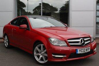 2012 MERCEDES-BENZ C CLASS 2.1 C250 CDI BLUEEFFICIENCY AMG SPORT 2d 204 BHP £9976.00