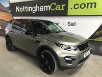 2017 LAND ROVER DISCOVERY SPORT 2.0 TD4 HSE BLACK 5d AUTO 180 BHP £32495.00