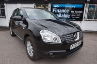 2007 NISSAN QASHQAI 2.0 ACENTA 4WD 5d 140 BHP,1 PRIVATE OWNER,PAN ROOF,CRUISE,HISTORY £5490.00