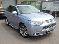 USED 2015 15 MITSUBISHI OUTLANDER 2.0 PHEV GX5HS 5d AUTO 162 BHP ANY PART EXCHANGE WELCOME, COUNTRY WIDE DELIVERY ARRANGED, HUGE SPEC