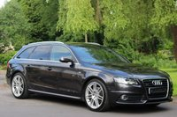 USED 2010 60 AUDI A4 3.2 AVANT FSI QUATTRO S LINE SPECIAL EDITION 5d 265 BHP