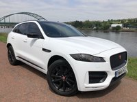 USED 2017 66 JAGUAR F-PACE 2.0 R-SPORT AWD 5d AUTO 178 BHP **TWO TONE LEATHER**